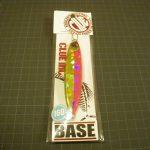 タチウオジギング用メタルジグのラインナップにクルー(CLUE INC.)のベイス(BASE)という選択