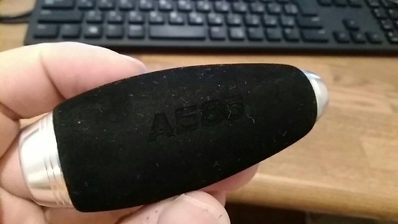 オシアコンクエストのハンドルノブをAE85に交換しました